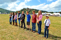 Bursary Presentation at Dunster Show 2016