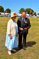 Presentation to Mr & Mrs M.Scott at Dunster Show 2016